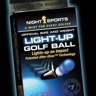 Night Sports leuchtende Golfbälle-Verpackung