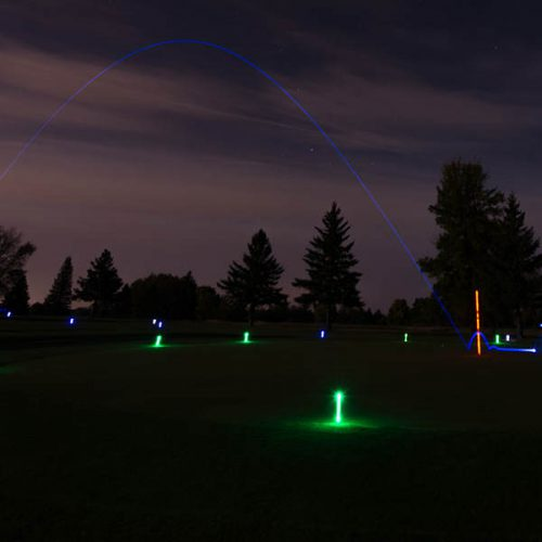 NightSports leuchtende Golfbälle Green