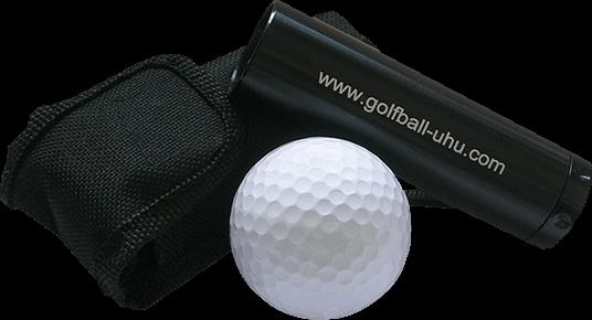Golfball-Uhu Ballfinder freigestellt