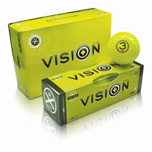 Box Golfball X3UV Yellow W Sm