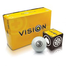 Golfball Vision The-Gel-White Gel-V-Series Box