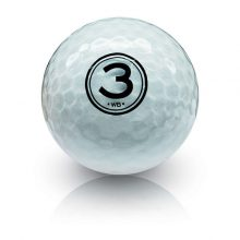 Golfball Vision The-Gel-White Gel-V-Series Front