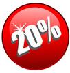 20 Prozent Rabatt