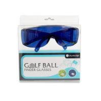 Golfballfinder Brille Box Frontansicht