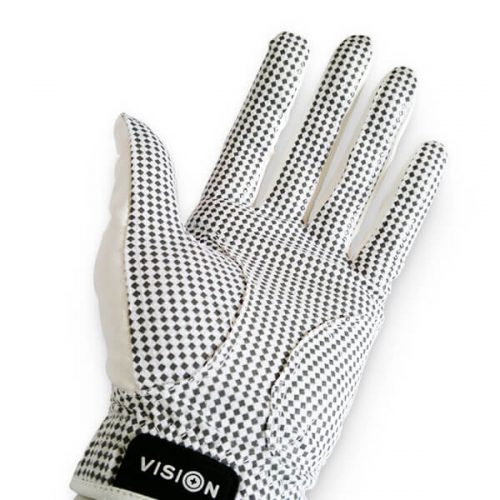 Vision XGRIP Golfhandschuh weiss Back Hand