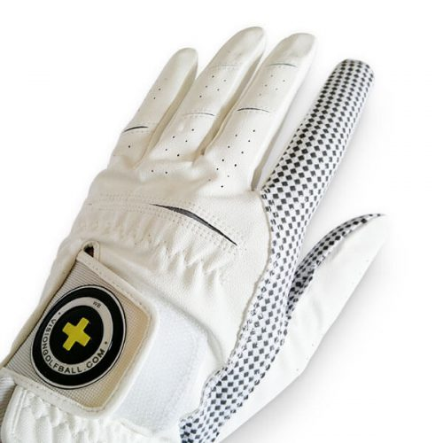 Vision XGRIP Golfhandschuh weiss Front Hand