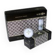 Vision_ProTourV_Grün_Golfball_Snow-White_12er_Box