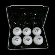 Night Eagle LightUp LED Golfball 6er Box offen
