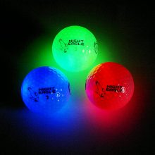 night eagle lightup led golfball licht-aktiviert 3er box baelle heller