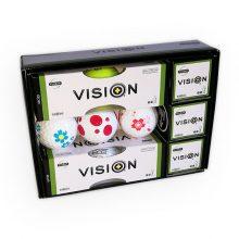 Pro Soft 808 TestTheVision Set 12er Box Golfbälle offen