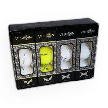 Pro Tour TestTheVision Set 12er Box Golfbälle offen
