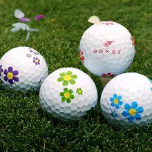 Vision Goker Daisy-Flower Golfbälle Wiese