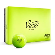 Vice Pro Neon Golfbälle 12er Box Gelb