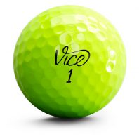 Vice Pro Neon Golfball Front Gelb