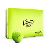 Vice Pro Plus Neon Lime Golfball 12er-Box
