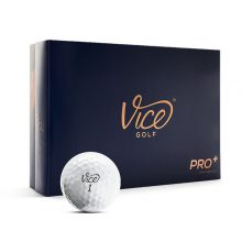 Vice Pro Plus Weiß Golfball 12er-Box