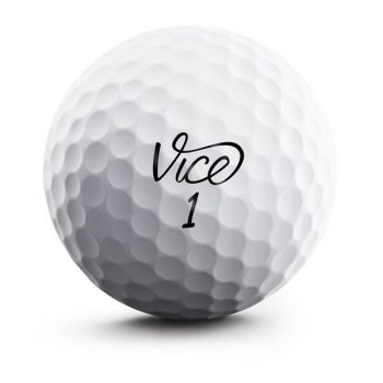 Vice Pro Soft Weiß Front Golfball