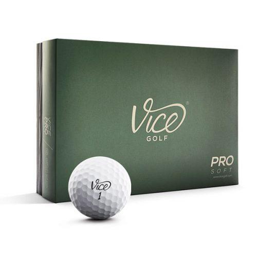 Vice Pro Soft Weiß Golfball 12er-Box