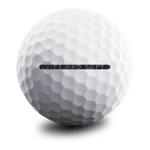 Vice Pro Soft Weiß Puttingline Golfball