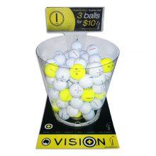Vision Golfbälle Theken Display B2B