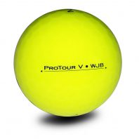 Vision Pro Tour V SuperYellow Golfball Back Golfbälle Gelb