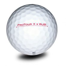 Vision Pro Tour X SnowWhite Red Golfball Back