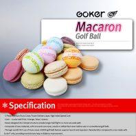 Vision Goker Macaron Golfbälle Spezifikationen