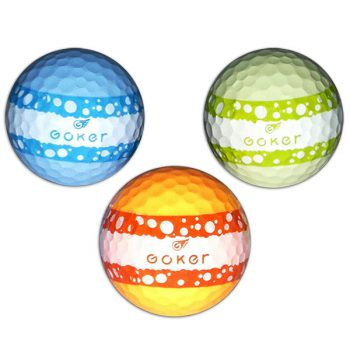Vision Goker Macaron Golfbälle orange grün blau