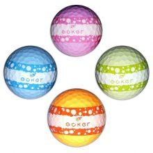 Vision Goker Macaron Golfbälle orange grün blau lila
