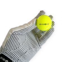 Vision Golfhandschuh Weiß Back Hand Pro Soft 808 SuperYellow XGRIP