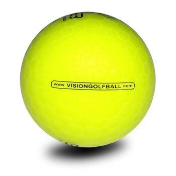 Vision_Pro Soft_808_SuperYellow_Golfball_Visiongolfball_Golfbälle Gelb