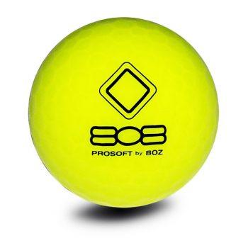 Vision_Pro Soft_808_SuperYellow_Golfball_gelb_back_Golfbälle