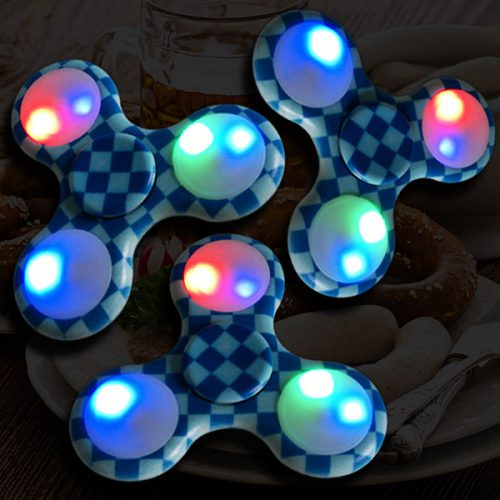 LED Fidget Spinner Bavaria aktiv Brotzeit