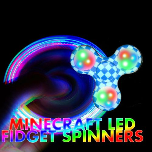 LED Fidget Spinner Bavaria aktiv Composition
