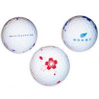 Vision Goker Blossom Golfbälle 3er Back