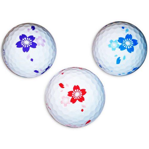 Vision Goker Blossom Golfbälle 3er Front