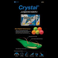 Volvik Crystal Golfbälle Übersicht