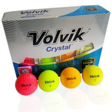 Volvik Crystal Golfbälle Mix 12erBox Front