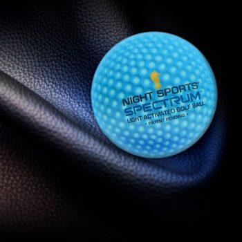 NightSports Spectrum LED Golfball ProductShot Blau