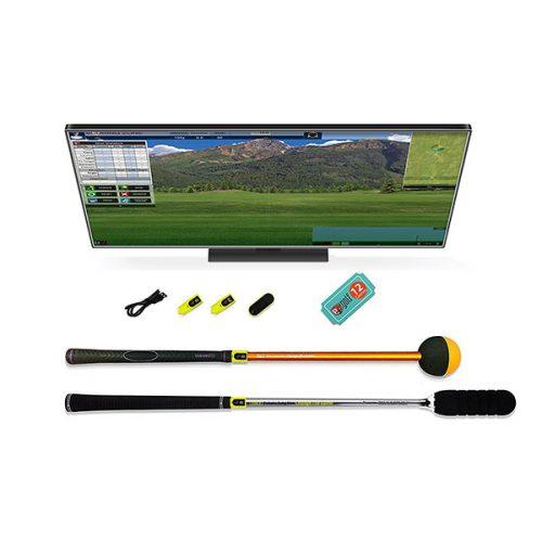 Tittle X Golfsimulator Tru Golf Edition Inhalt komplett