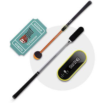 Tittle X Golfsimulator Tru Golf Edition Swing-und Safety Stick