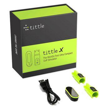 Tittle X Golfsimulator Tru Golf Edition Technik-Box