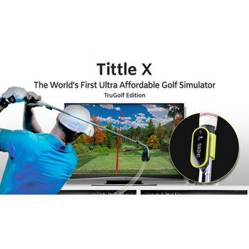 Tittle X Golfsimulator Tru Golf Edition günstig