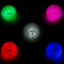 Night Eagle LightUp LED Golfball 6er-Box alle Farben heller
