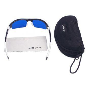 Golfball-Finder-Brille A99 inklusive Etui + Brillenputztuch für Golfballsuche Neu