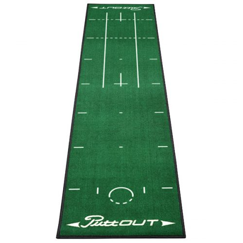 PuttOut Puttingmatte Grün Golf 50x240cm