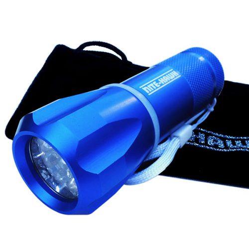 Nite Hawk LED Golfball Finder blau