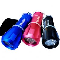Nite Hawk LED Golfball Finder blau pink schwarz