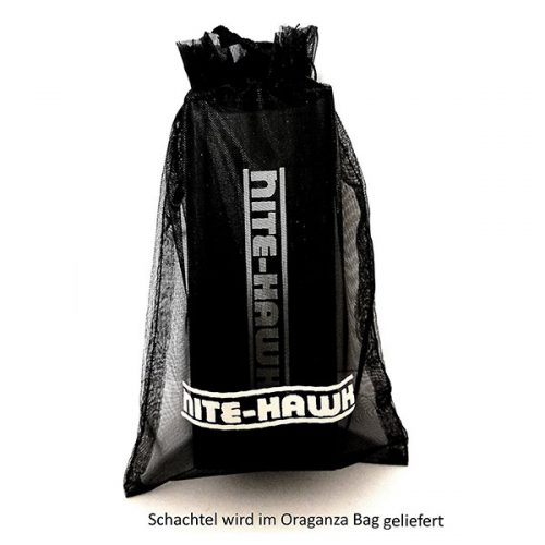 Nite Hawk LED Golfball Finder im Oraganza Bag