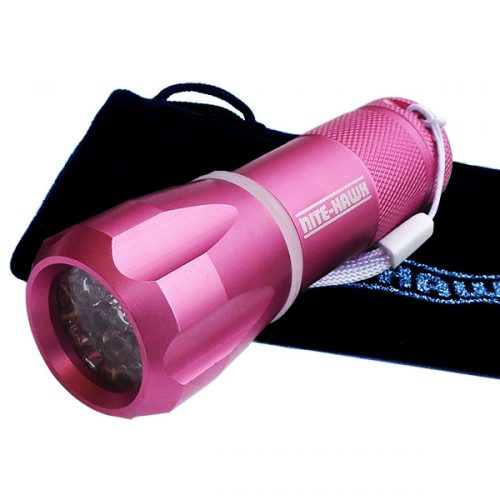 Nite Hawk LED Golfball Finder pink